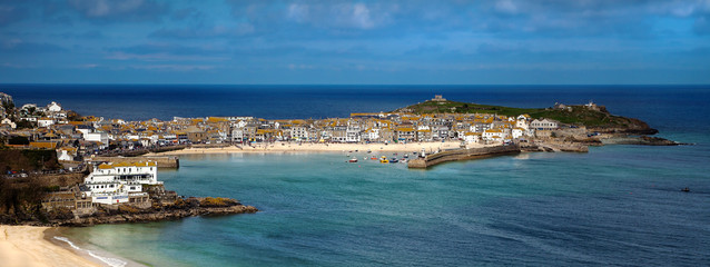 St Ives Panorama - Cornwall UK