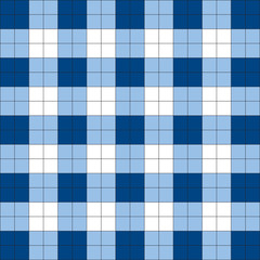Seamless background of blue square pattern, vector
