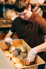 Breadbasket full of buns