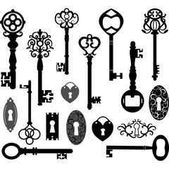 Keys Silhouette