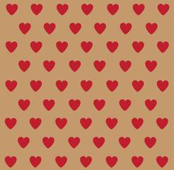 heart polka dot