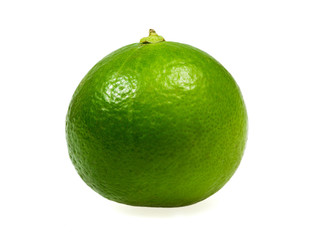 Fresh limes Isolated