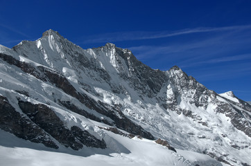 Swiss Alps: The Mischabel group, near Saas Fee
