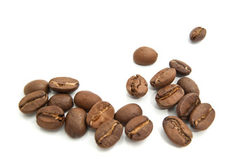 flavored roasted coffee beans