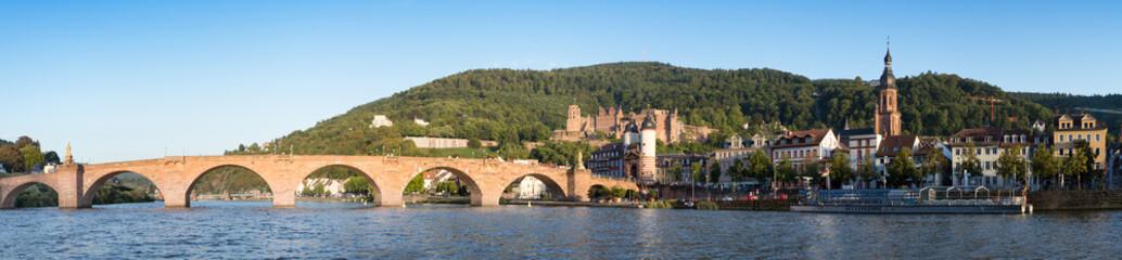 Wall Mural - Heidelberg im Sommer Panorama