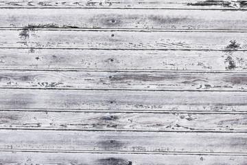Grunge gray wooden desks texture.