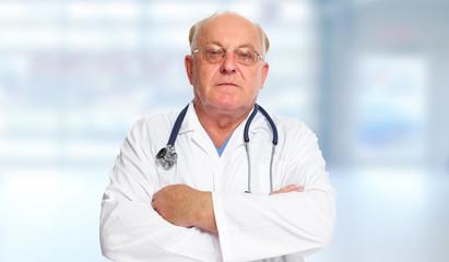 Senior doctor man.