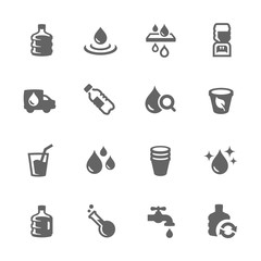 Simple Water Icons