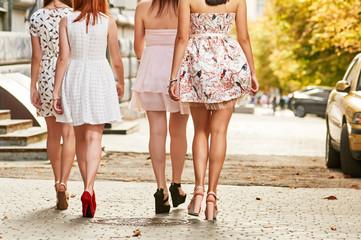 Women Going Long Legs