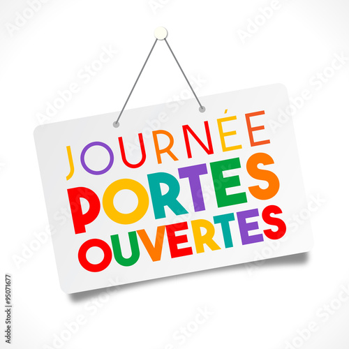 Journ e portes ouvertes stock image and royalty free for Porte ouverte