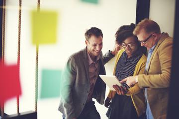 Corporate Team Casual Break Discussion Ideas Concept