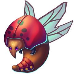 Rugby Bug - Creature Design