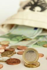 Geldsack mit Banknoten
