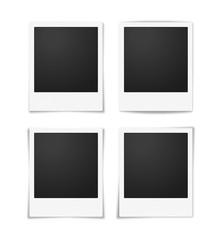 Vier Fotorahmen Kollektion