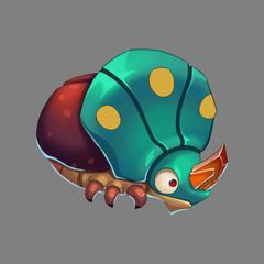 Beetle Monster - Creature Design