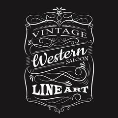 Vintage label typography t-shirt design vectors