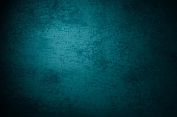 Dreckiger Hintergrund mit ungleichmäßiger Oberfläche Türkis