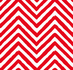 Vector Red Chevron Seamless Pattern
