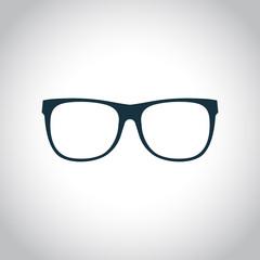 Eyeglasses black icon