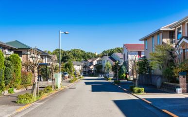 閑静な住宅街