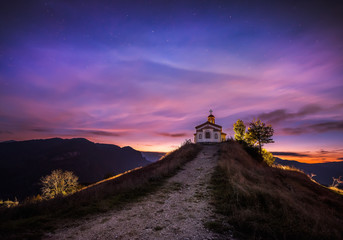 Chapel on the hill.