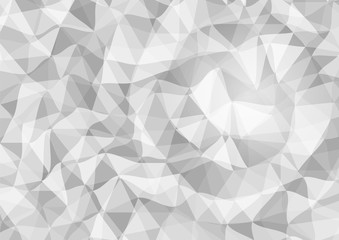 Gray triangular background