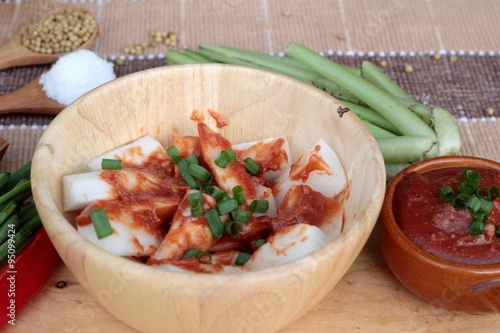 a description of kimchi a traditional korean food Traditional napa cabbage kimchi every korean household has a different recipe: in a mini food processor, combine the garlic.
