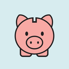 piggy bank icon