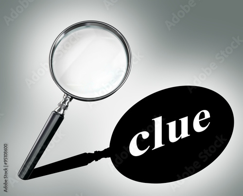 Mystery Magnifying Glass Question Mark