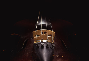 Old Dusty Violin Details