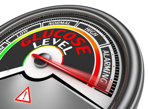 Glucose level conceptual meter