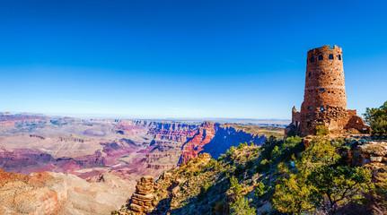 Grand Canyon Desert View Watchtower, Arizona, USA.