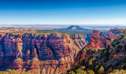 Cedar Mountain at Desert View, Grand Canyon, Arizona