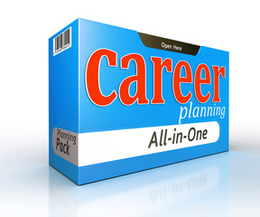 career planning pack box concept