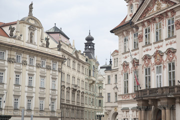 Old Town Square Facades in Prague