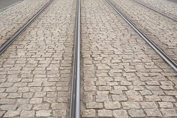 Tram Tracks, Dresden