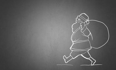 Santa Claus. Concept image