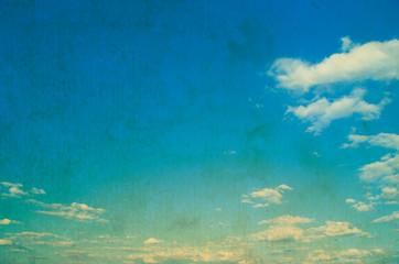 Grunge image of sky background.