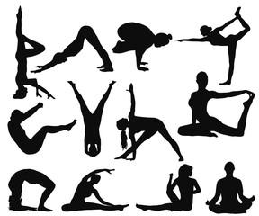 yoga moves set