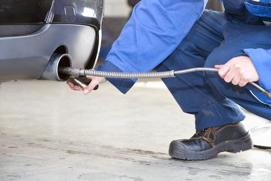 Diesel emission check