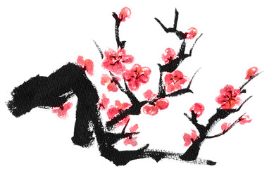 梅の木(紅梅)
