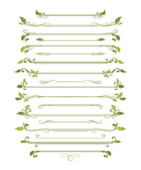 Christmas page dividers