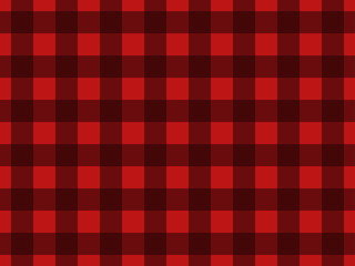 Seamless pattern with black squares on a red background