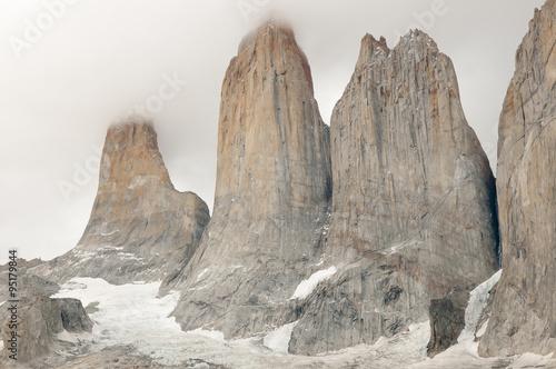 Fotobehang Granite Towers - Torres Del Paine National Park - Chile