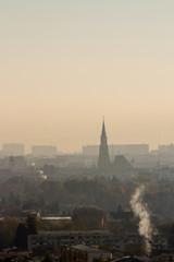 Autocollant pour porte Cracovie City of Cluj-Napoca