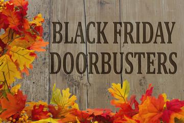 Black Friday Shopping Doorbusters