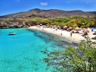 Fototapeten Karibik Strand auf Curacao