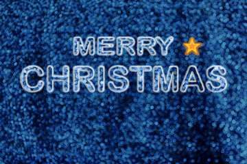 (With clipping path) MERRY CHRISTMAS FONT PICTURE for graphics designed work