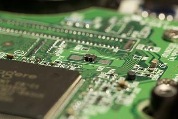 circuiti, dettaglio, microchip, chip, elettronica