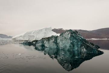 Black Ice -Scoresby Sound - Greenland